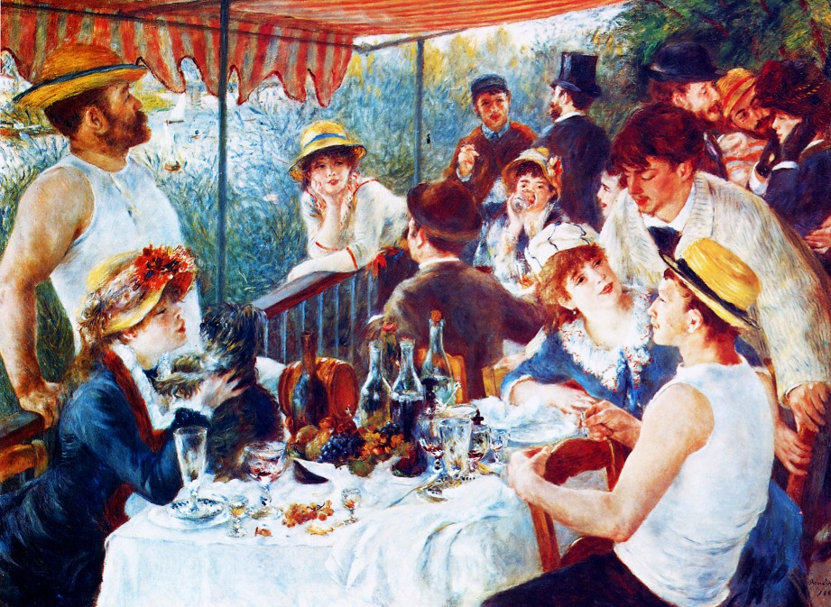shake2shock_lisa_Breakfast of the Rowers_Pierre Auguste Renoir_1841-1919
