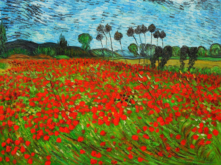 shake2shock_lisa_Field of Poppies_ Vincent Van Gogh1890