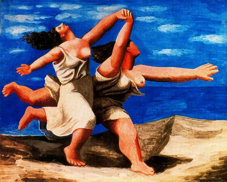 shake2shock_lisa_two-women-running-on-the-beach-(the-race) picasso1922